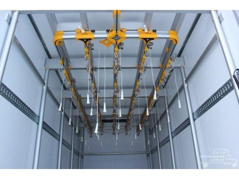 Подвесные пути в грузовик рефрижератор