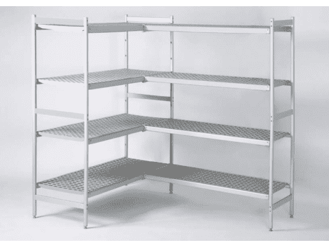 Сравнение стеллажей для холодильных камер