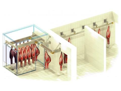 Подвесные пути в мясной магазин Райян