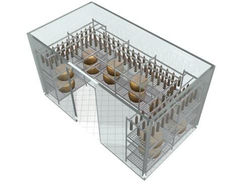 Автоматическое проектирование стеллажей