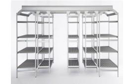 Стеллаж EasyCompact для холодильной складов и помещений