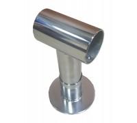 Опора из нерж стали для трубы 42 мм
