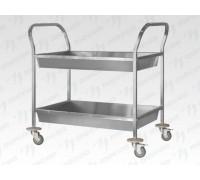 Тележка для сбора посуды ТДПп - 800*500*860