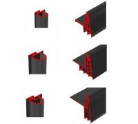 Уплотнитель резиновый Dervet для дверей холодильных камер