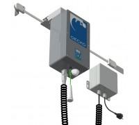Электропривод моноблок GECKO для откатных дверей холодильных камер Dervet