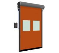 Скоростные рулонные ворота DERVET (модель RANU HIGH SPEED DOOR)