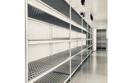 Стеллажная система модульная для склада и камеры