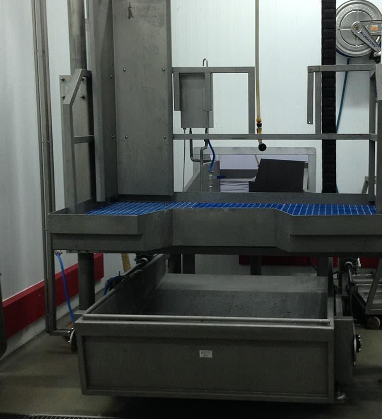 Подъемные платформы для мясопереработки